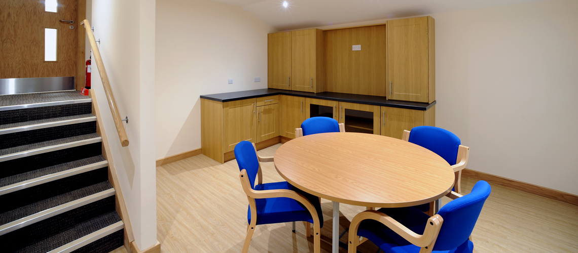 Midlands Building Projects Office Kitchen