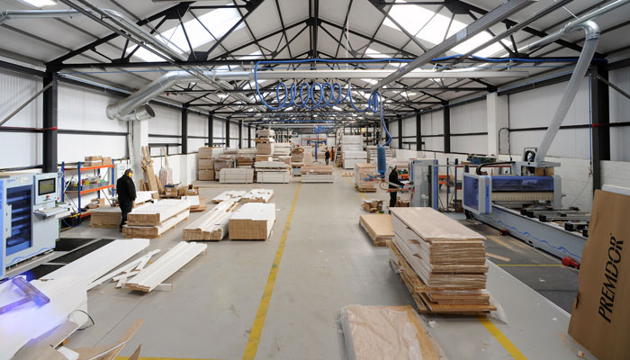 Commerical office, factory or warehouse buildings